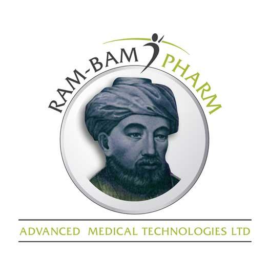 עיצוב לוגו יבוא ציוד רפואי ותרופות RAM-BAM PHARM