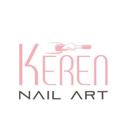 עיצוב לוגו בניית ציפורניים