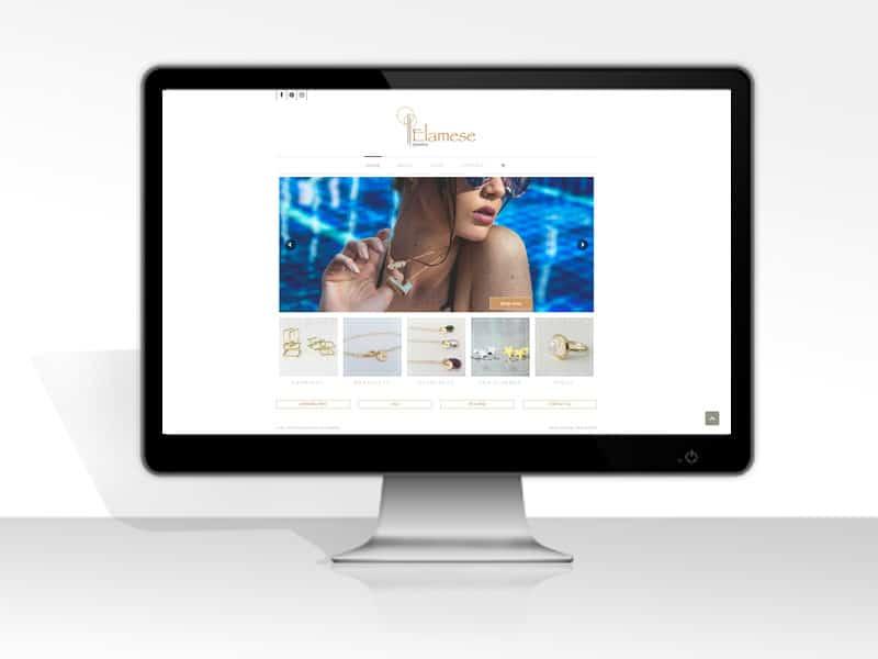 מעוף עיצובים עיצוב ובניית אתר מכירות לתכשיטים
