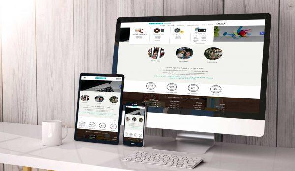מעוף עיצובים-עיצוב ובניית אתר תדמיתי פוטו לינוף צילום וארכיון